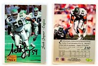 Seth Joyner Signed 1993 Pro Line Live #210 Card Philadelphia Eagles Autograph