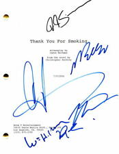 ROB LOWE, KATIE HOLMES +4 SIGNED AUTOGRAPH - THANK YOU FOR SMOKING MOVIE SCRIPT