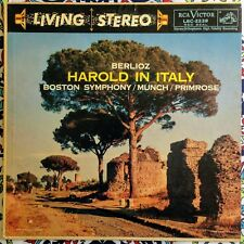 Munch Primrose Berlioz Harold In Italy RCA Victor Living Stereo LSC-2228