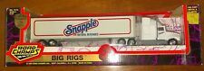 1994 Road Champs Die Cast 1:64 Hershey's Big Rigs SNAPPLE Hauler Truck #7310 NEW