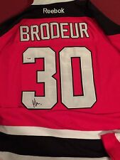 Martin Brodeur Auto Jersey, Signed Autograph New Jersey Devils PSA DNA COA NHL