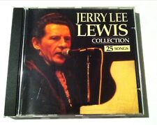 CD Jerry Lee Lewis collection 25 songs Rock'n Roll