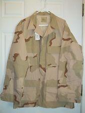 New Large Long DCU- Desert Camouflage Pattern Combat Uniform Coat