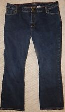 LEVI'S Dark Wash Low Rise Slim Bootcut Stretch Jeans Women's Junior's Size 17