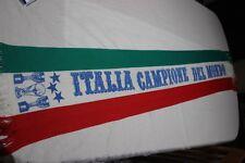 BUFANDA VINTAGE SELECCION DE ITALIA FORZA ITALIA CAMPIONE DEI MONDO     SCARF