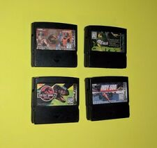Tiger Game.com Video Game Cartridges  Lot of 4 Mortal Kombat Centipede Jurassic