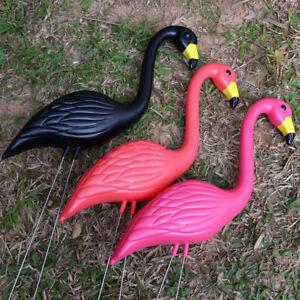 Flamingo Decor Plastic Lawn Figurine Home Garden Wedding Party Decor Ornaments