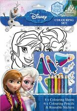 Disney Frozen Colouring Set / Birthday Party Loot Stickers