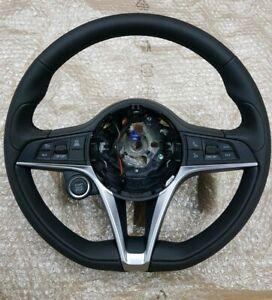 ALFA ROMEO Giulia or Stelvio Leather Steering Wheel. Sport. Complete.