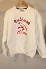 Rockbrook Summer Adventure Camp White Sweatshirt Women Size L