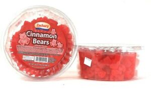 2 Packages Zachary 24 Oz Cinnamon Bears Fat Free 100 Calories Per Serving