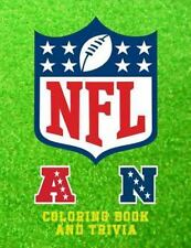 NFL Coloring Book and Trivia : This NFL Book Comprises of Images of the Logo`...