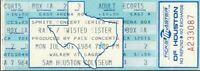 """RATT / TWISTED SISTER - HOUSTON SAM HOUSTON COLISEUM 1984 """"Watch"""" to get offers"""