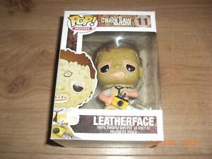 Leatherface Texas Chainsaw Massacre Vinyl Figure Funko Pop Movies Nr. 11 NEU