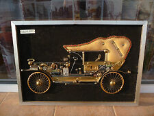 Buick 1920 Author's picture frame old car different material used rare wall