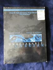 Unbreakable Dvd 2001 2-Disc Set Vista Series Bruce Willis Made in Mexico