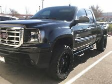 07-18 SILVERADO SIERRA EXT / DOUBLE CAB BLK Nerf Bars Side Steps Running Boards