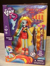 My Little Pony Equestria Girls-Rainbow Dash Hairstyling doll w/hair extensions