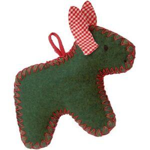 KÄTHE KRUSE X Mas / Christmas Esel grün Weihnachten Anhänger NEU