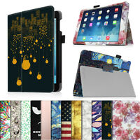 EPD0286Apple iPad Tablets Folio Premium Vegan Leather Case Magnetic Stand Cover