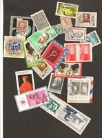 Interesting World Mix Stamps to Check Lot:  France, Bulgaria, Togolaise  etc.