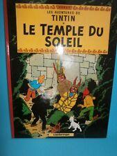 """ALBUM TINTIN """" LE TEMPLE DU SOLEIL """"  Edition 1966"""