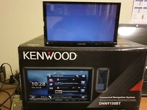 KENWOOD DNN9150BT BUILT-IN GPS AND WIRELESS MIRRORING