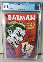 Batman: The Man Who Laughs #nn CGC 9.8 White Pages (2005) DC Joker
