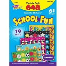 School Fun Sparkle Stickers® Variety Pack Trend Enterprises Inc. T-63904