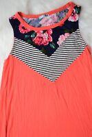 PS Kate Dress Size Small Pink Blue Sleeveless Cute Short