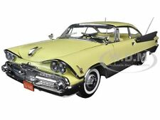 1959 DODGE CUSTOM ROYAL LANCER HARD TOP YELLOW 1/18 PLATINUM BY SUNSTAR 5482