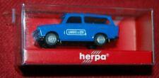"Herpa Model Trabant 601 als Kombi ""Landis & GYR"" Werbung in blau, 1:87, NEU"