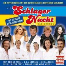 DIE SCHLAGER NACHT DES JAHRES MIT S. ROSSI UVM. CD NEU