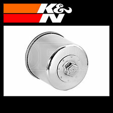 K&N Oil Filter Powersports Chrome Finish Motorcycle Various Makes - KN-204C