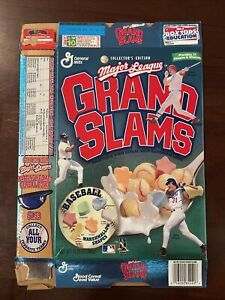 Collector's Edition Mark McGwire Frank Thomas Mike Piazza Cereal Box MLB Rare
