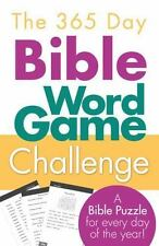 The 365 Day Bible Word Game Challenge: A Puzzle for Every Day of theYear