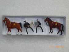 PROMO 10397 POLICE MONTEE US A CHEVAL ACCESSOIRES 10397 PREISER NEUF ECHELLE HO