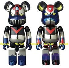 Be@rbrick 2016 Chogokin 200% Great Mazinger G & Robo Grendizer Bearbrick set 2pc