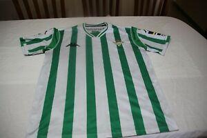 T-Shirt Official Real Betis Football kappa Size L Advertising Reale Shirt