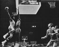 New York Nets JULIUS 'Dr J' ERVING vs Spirits of St. Louis Glossy 8x10 Photo