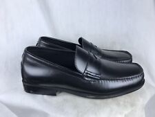 Rockport Mens 7D Black Leather Casual Loafers
