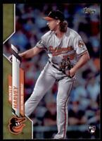 2020 Topps Series 2 Base Gold Foil #364 Hunter Harvey - Baltimore Orioles