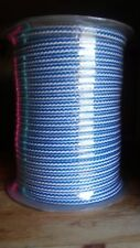 10 mm 16 strand Hollow Braid Polyethylene rope. 500 ft. US Made