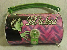 *RARE* WIZARD OF OZ METAL PURSE WICKED WITCH MONKEY RHINESTONES HANDBAG TWO WAYS