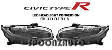 FOR 2016-2017 HONDA CIVIC TOURING STYLE LED HEADLAMPS CONVERSION for LX EX Si