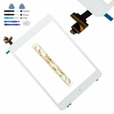 iPad Mini 1 2 White Digitizer Glass Touch Screen IC Chip Home Button Replacement