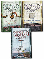 Winston Graham Poldark Series Trilogy Books 7, 8, 9, Collection 3 Books