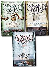 Winston Graham Poldark Series Trilogy Books 7, 8, 9, Collection 3 Books