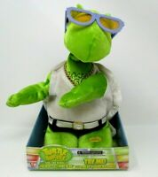 Gemmy Animated Plush Turtle Dancers sings dances You Dropped A Bomb On Me 2006