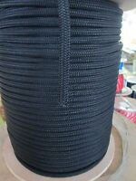 """3//8/"""" X 1FT CABLEMAX DOUBLE BRAID POLYESTER//KEVLAR CABLE PULLING ROPE 9100Lb USA"""